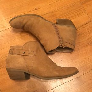 Women's size 8 light brown ankle booties